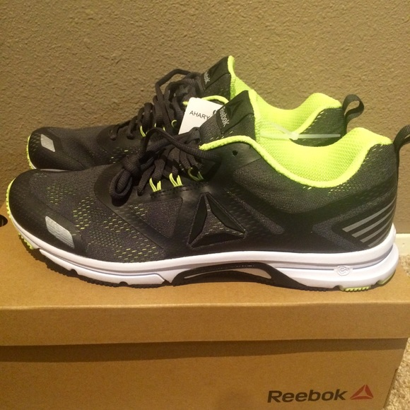 9a37ea64c1f Ahary Running Sneakers Sports Shoes Lime. NWT. Reebok